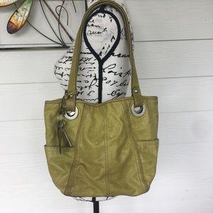 ⭐️3for$30 Fossil Vintage Leather Shoulder Bag